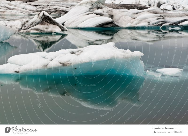 Nature Water White Ocean Blue Vacation & Travel Cold Ice Environment Frost Climate Transience Uniqueness Iceland Environmental protection Glacier
