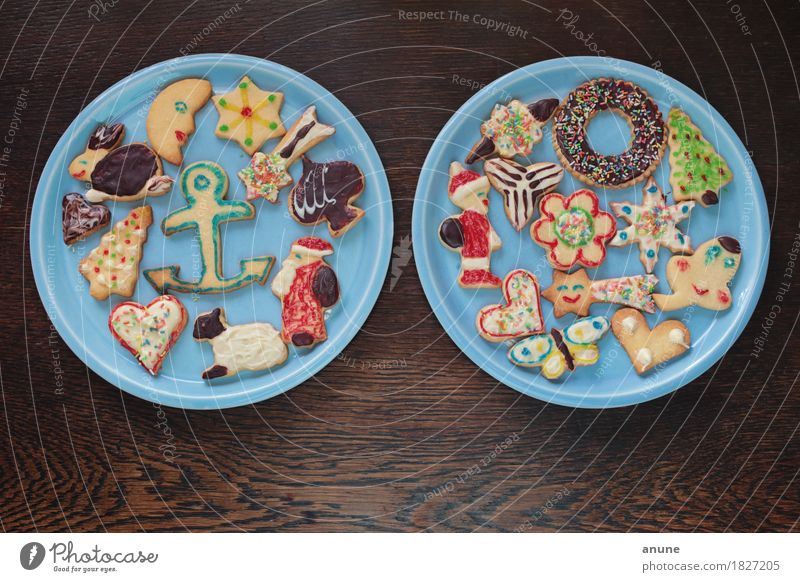 Christmas & Advent Wood Food Feasts & Celebrations Nutrition Decoration Infancy Heart Uniqueness Cute Sign Delicious Candy Tradition Plate Baked goods