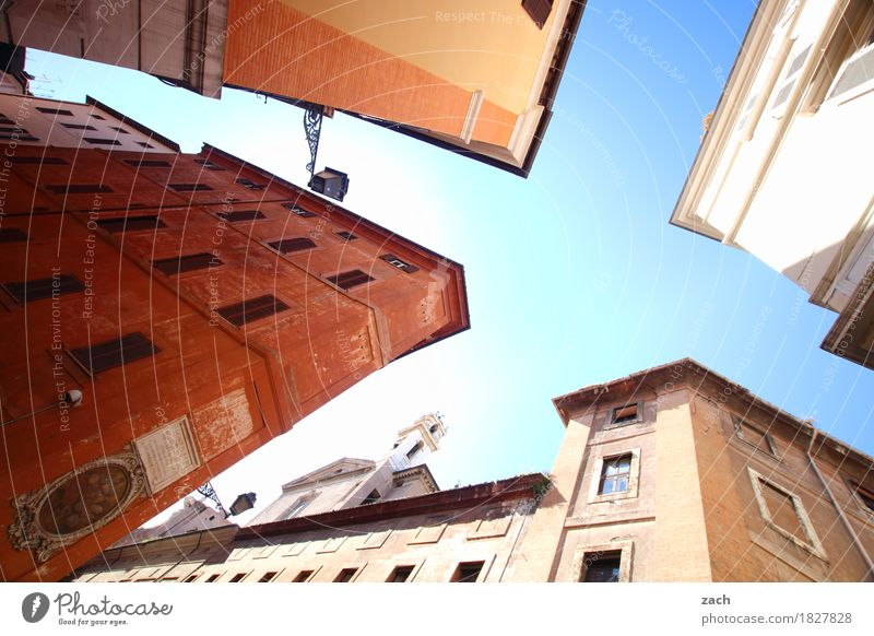 house party Sky Rome Italy Town Capital city Downtown Old town House (Residential Structure) Dream house Palace Manmade structures Architecture Wall (barrier)