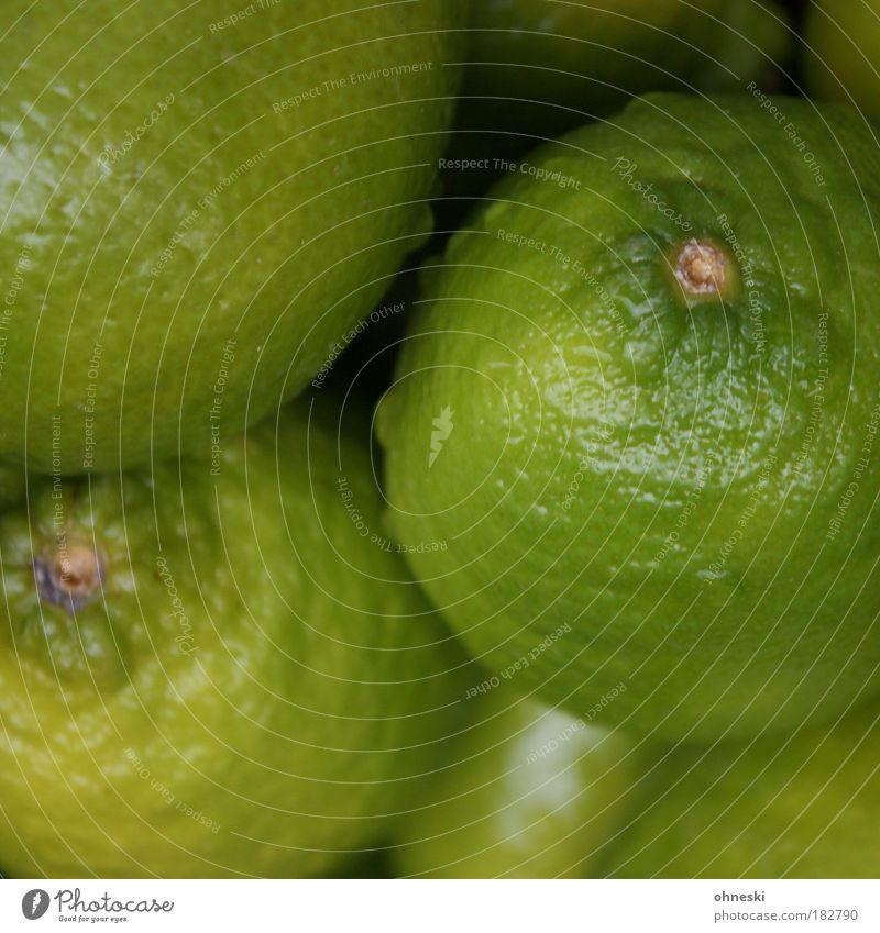 Caipirinha raw material Colour photo Close-up Deserted Shallow depth of field Bird's-eye view Food Fruit Dessert Lemon Lime Citrus fruits Nutrition