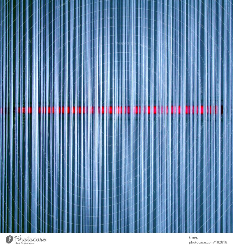 Blue Red Direction Mysterious String Drape Think Mystic Fine Vertical Puzzle Horizontal Profound