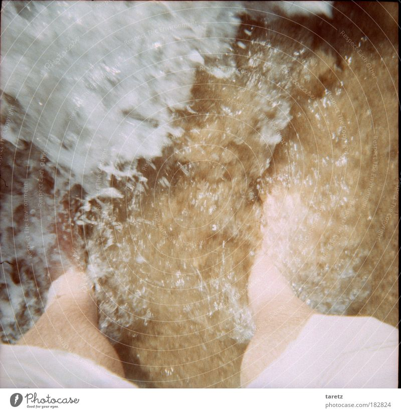 Human being Water Beach Life Cold Happy Feet Warmth Sand Legs Bright Brown Waves Going Masculine Wet