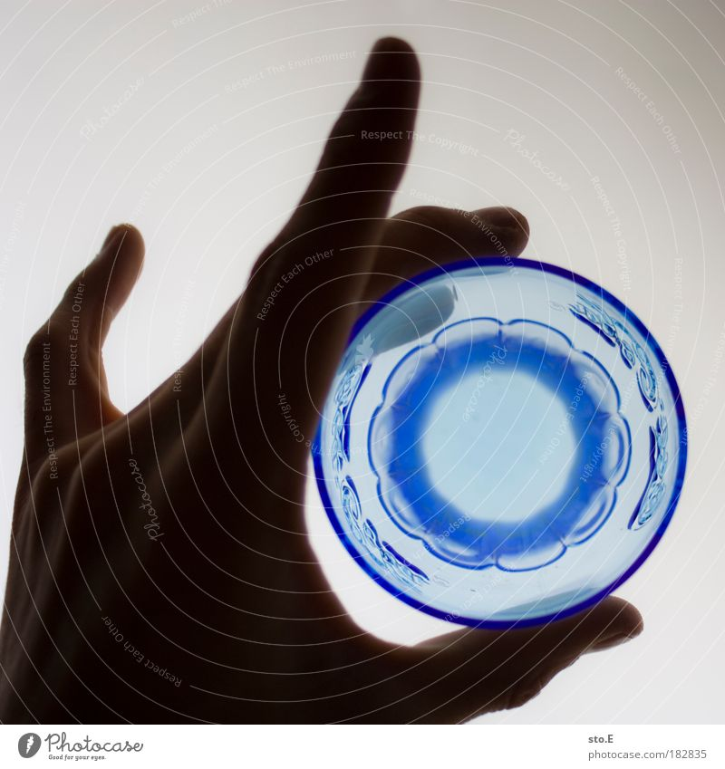 Blue Nutrition Water Glass Flat (apartment) Abstract Food Drinking water Beverage Room Kitchen Round Decoration Curiosity Bar