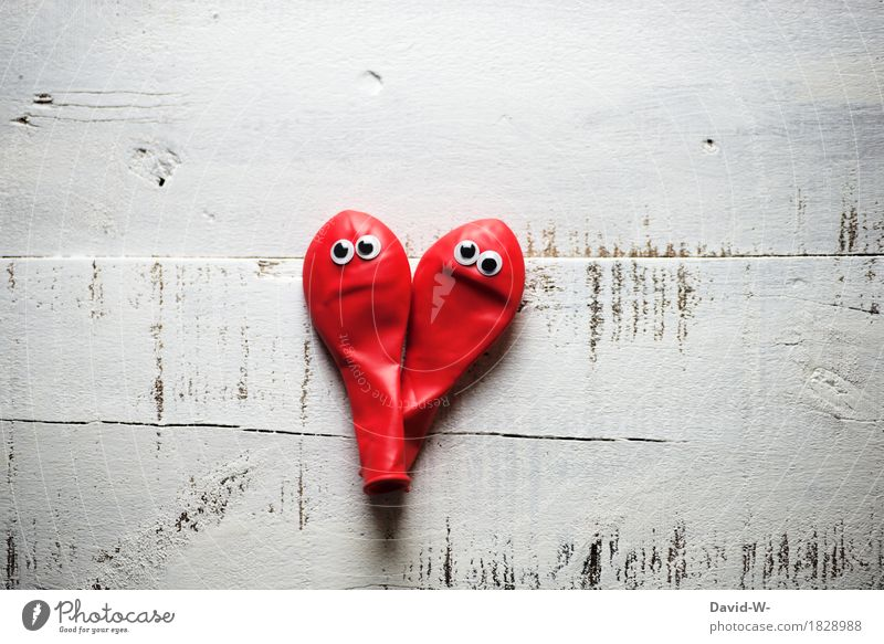 Human being Red Eyes Life Sadness Love Style Art Think Couple Air Creativity Empty Sex Heart Balloon