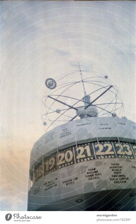 Sky Clouds Dark Berlin Map Gray Fog Time Science & Research Places Technology Europe Characters Clock Culture Art