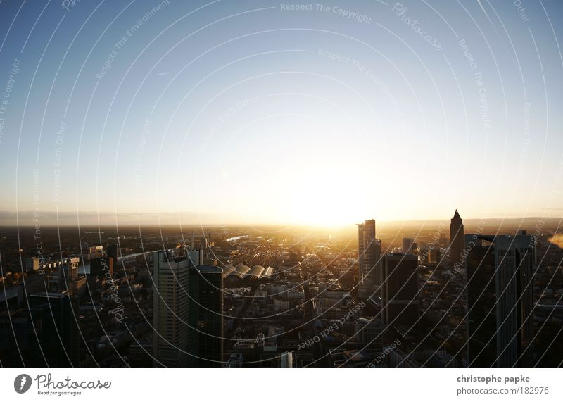 City Work and employment Dawn Architecture Building Sunrise Horizon High-rise Success Growth Hope House (Residential Structure) Sunset Change Bank building