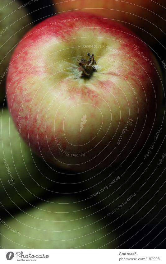 apple Colour photo Interior shot Close-up Detail Copy Space bottom Food Fruit Apple Nutrition Environment Nature Tree Healthy Fruit basket Fruit bowl