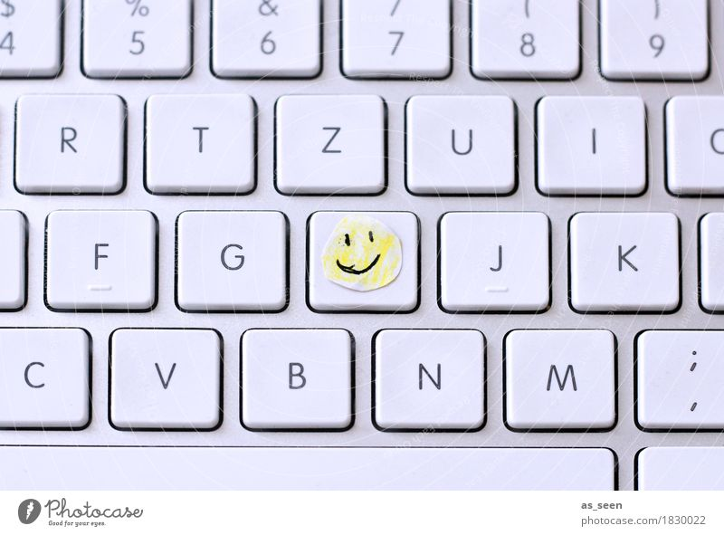 H like Happy Education Adult Education School Study Professional training Academic studies Examinations and Tests Office work Workplace Computer Keyboard Paper