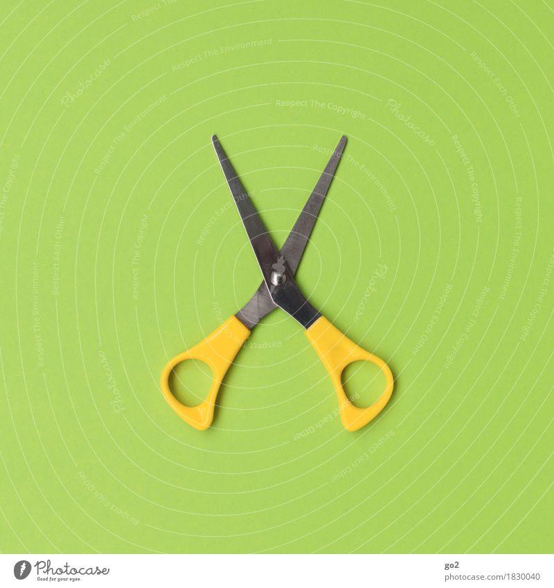 flip flip Leisure and hobbies Handicraft Handcrafts Work and employment Profession Craftsperson Hairdresser Craft (trade) Scissors Esthetic Simple Yellow Green