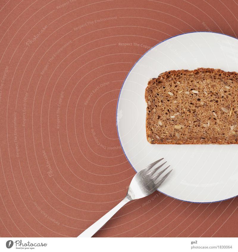 Healthy Eating White Food Brown Nutrition Esthetic Simple Breakfast Crockery Bread Plate Baked goods Diet Dough Cutlery