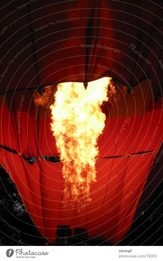 Balloon_fire Light Dark Burn Air Blaze experienced Hot Air Balloon