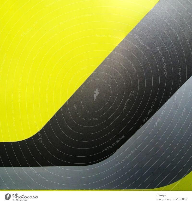 Black Yellow Style Line Metal Design Elegant Success Modern Cool (slang) Retro Change Stripe Uniqueness Illuminate Illustration