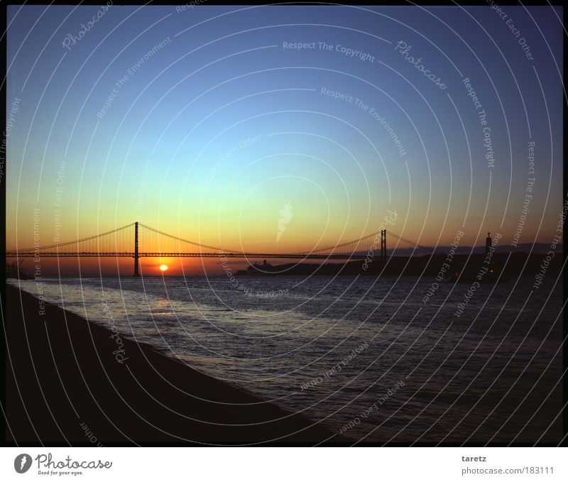 Water Sun Blue Red Summer Calm Loneliness Dream Contentment Coast Horizon Hope River Romance Vantage point Longing