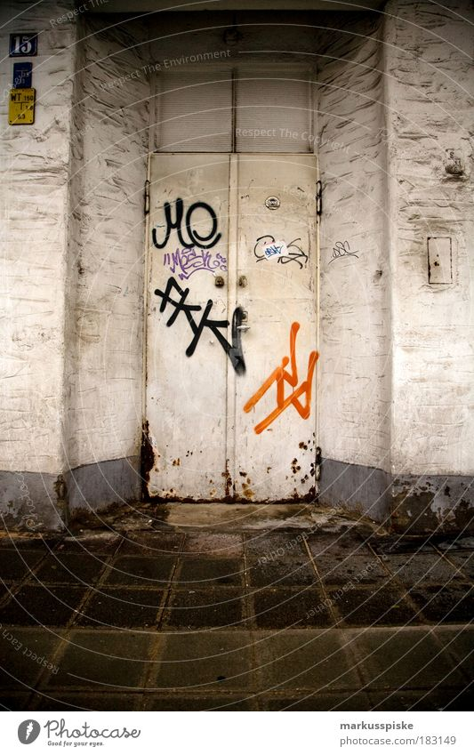 House (Residential Structure) Wall (building) Graffiti Style Stone Wall (barrier) Metal Feasts & Celebrations Dance Elegant Design Characters Sign Steel Rust Entrance
