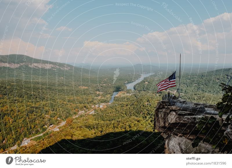 God bless America Vacation & Travel Tourism Trip Adventure Far-off places Freedom Sightseeing Mountain Hiking Human being Nature Landscape Forest Rock