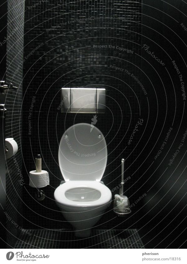Man Black Room Bathroom Toilet Photographic technology