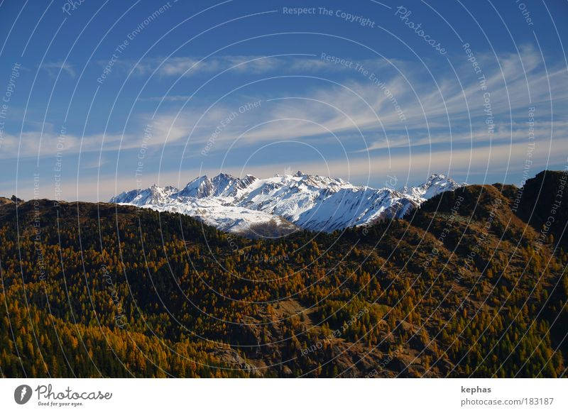 Nature Sky White Green Blue Plant Clouds Yellow Forest Snow Autumn Mountain Landscape Air Brown Power