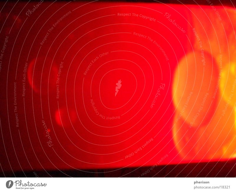 Red Black Lamp Style Orange Blow Lava Photographic technology