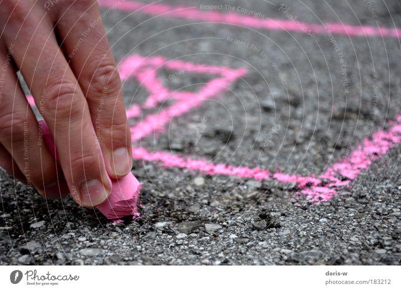 Hand Red Street Gray Lanes & trails Line Pink Road traffic Transport Fingers Corner Violet Asphalt Sign Highway Draw