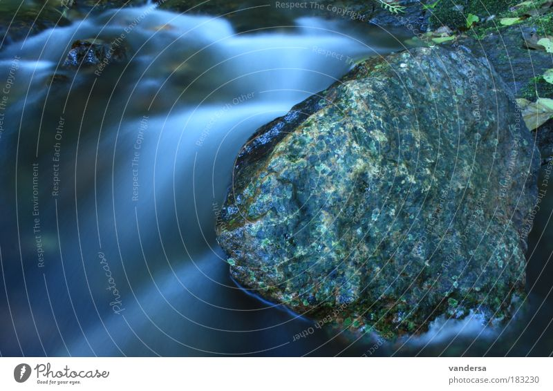 Nature Water Environment Landscape Autumn Waves Rock Esthetic Drops of water Elements River Reflection Harmonious Brook Senses Body of water