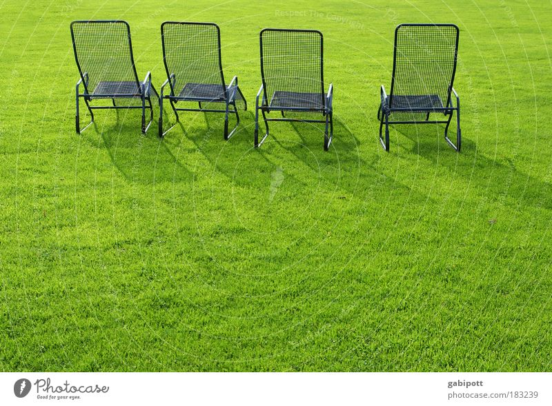 Blue Green Loneliness Calm Relaxation Meadow Garden Sadness Park Lie Break Chair Lawn Couch Steel Solar Power