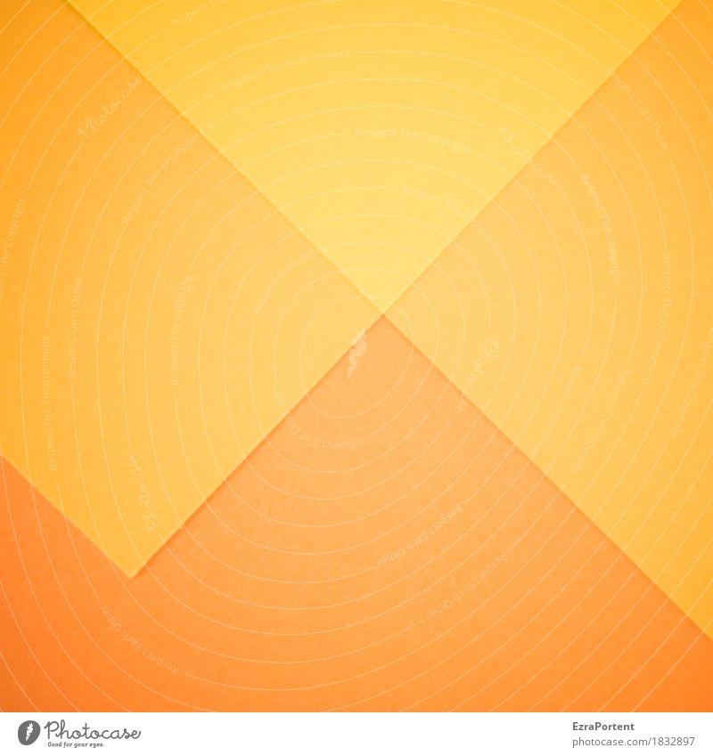 \/\/\ Elegant Style Design Art Paper Decoration Sign Line Esthetic Bright Yellow Orange Colour Inspiration Advertising Graphic Illustration Point