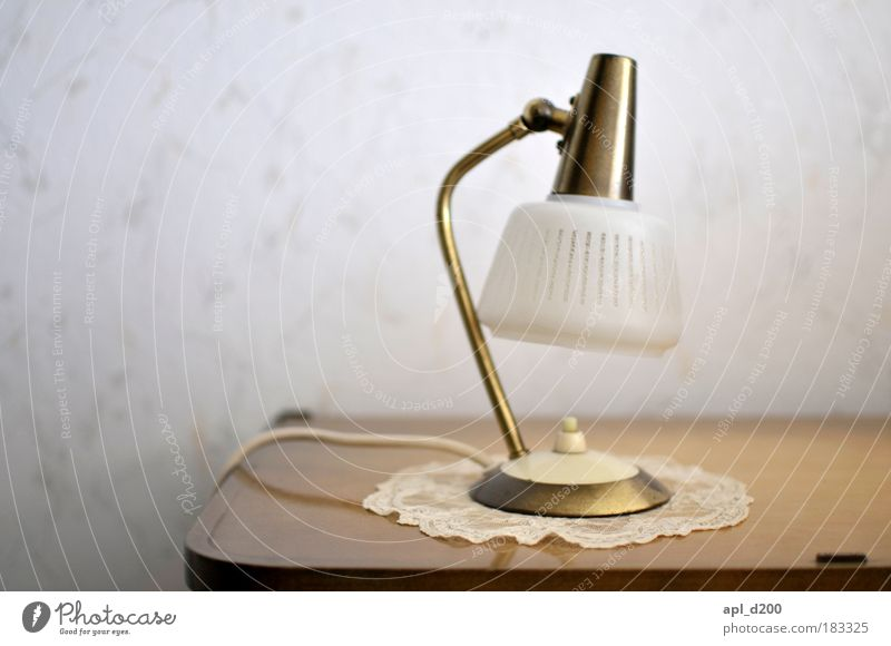 lamp holder Colour photo Subdued colour Interior shot Copy Space left Day Light Shallow depth of field Lamp Technology Energy industry