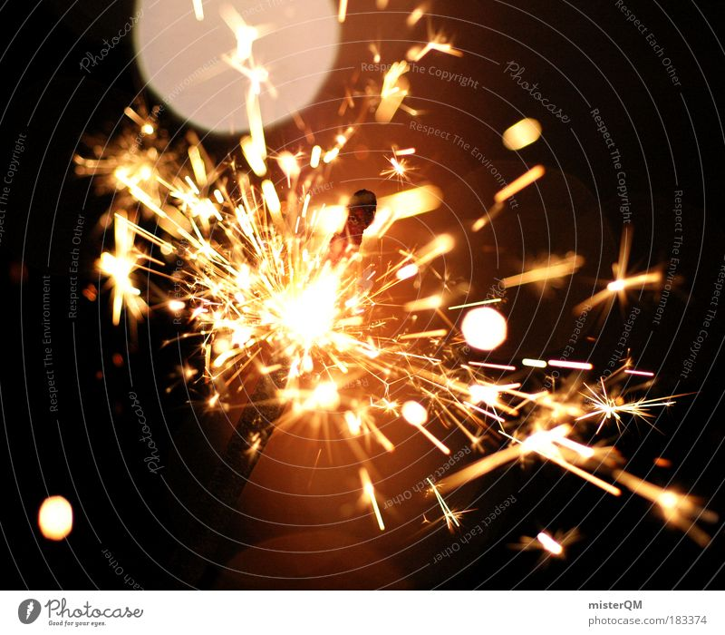 Party Feasts & Celebrations Glittering Esthetic Fire Illuminate Threat Shows New Year's Eve Sign Hot Club Risk Event Burn Surprise