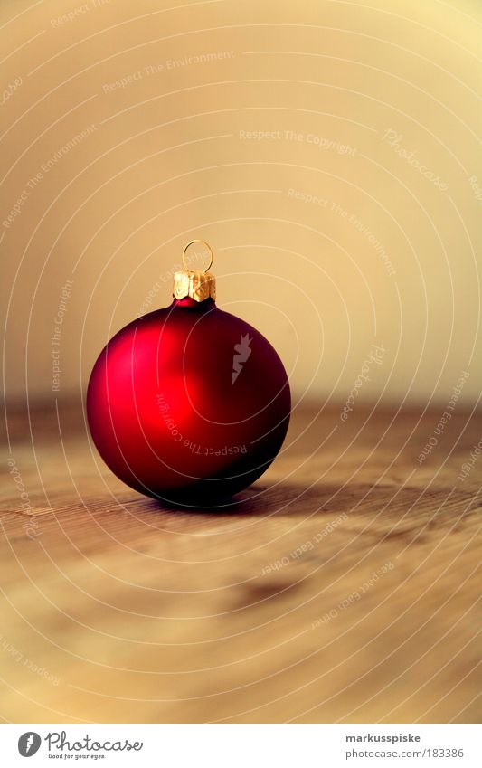Christmas tree ball Copy Space top Lifestyle Style Joy Happy Winter Flat (apartment) Decoration Room Living room Christmas & Advent Christmas decoration
