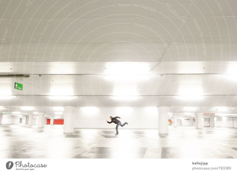 Human being Man Reflection Adults Wall (building) Wall (barrier) Style Leisure and hobbies Walking Elegant Signs and labeling Masculine Design Transport Future