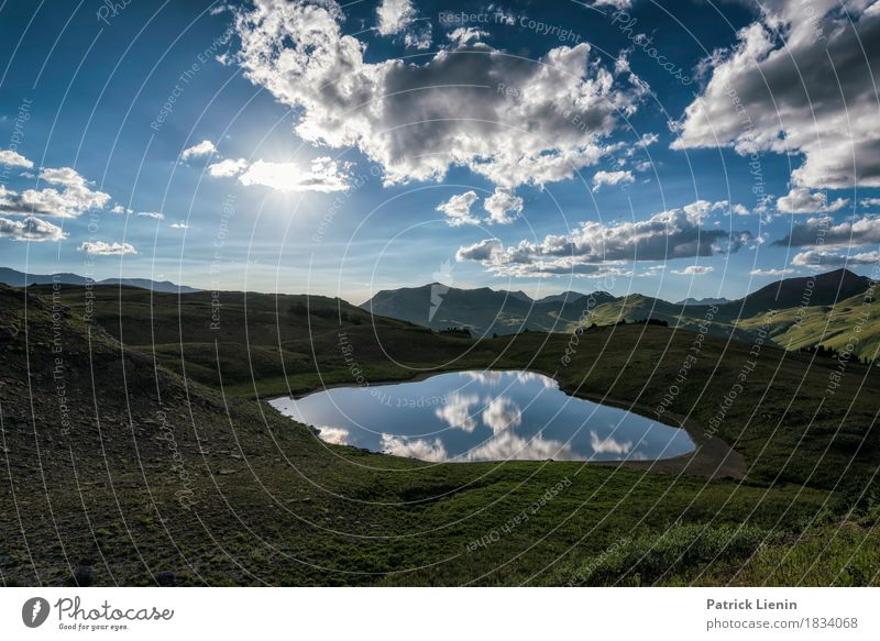 Wolkenwelt Beautiful Vacation & Travel Adventure Summer Sun Mountain Hiking Mirror Environment Nature Landscape Elements Earth Air Sky Clouds Sunrise Sunset