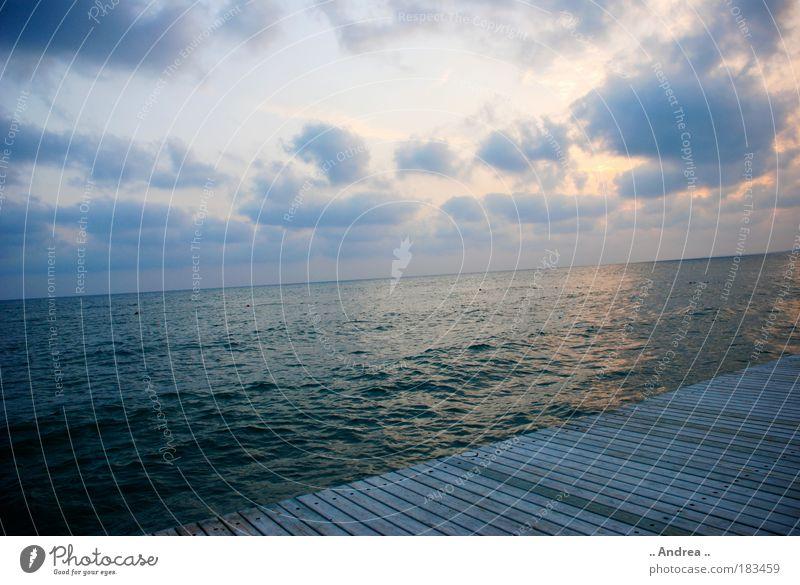 Sky Water Loneliness Clouds Horizon Longing Wanderlust Homesickness