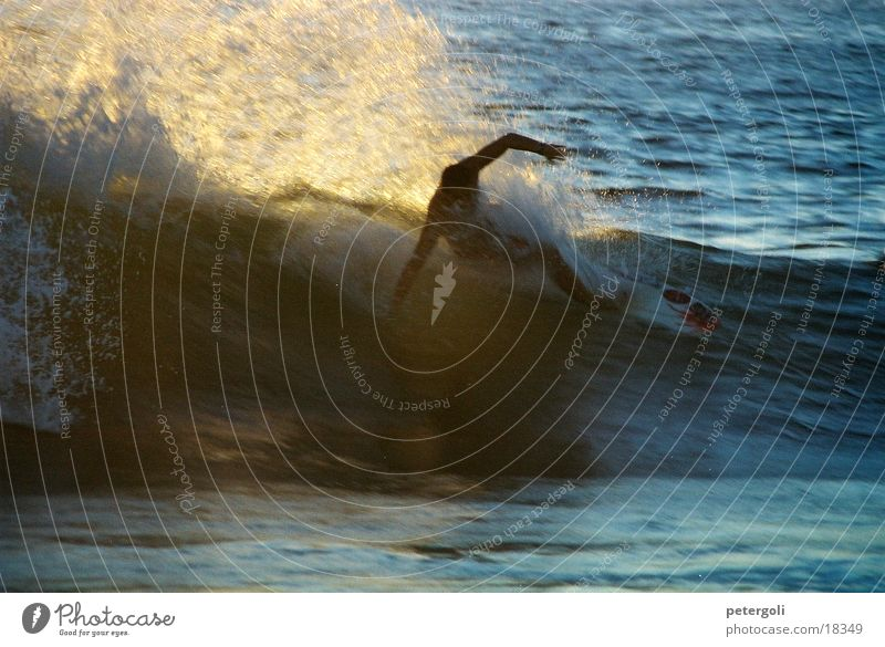 Sun Ocean Sports Waves Surfing Surfer Mexico Puerto Escondido