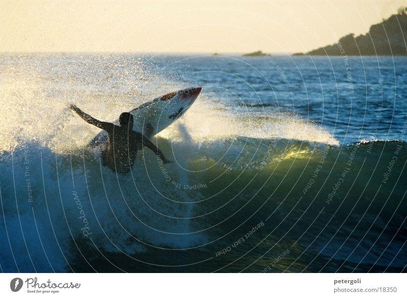 Sun Ocean Sports Waves Surfing Surfer Mexico Puerto Escondido
