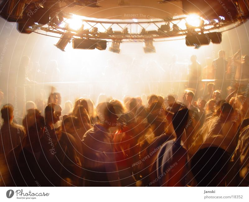 Human being White Joy Party Movement Bright Feasts & Celebrations Dance Dance event Technology Disco Club Floodlight Weekend