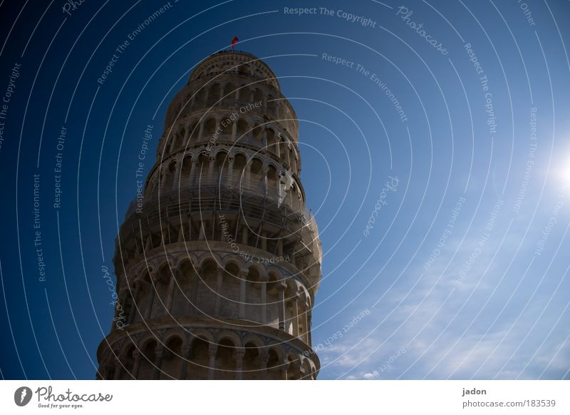 Old Blue Contentment Power Design Safety Esthetic Romance Tower Italy To hold on Past Historic Build Effort