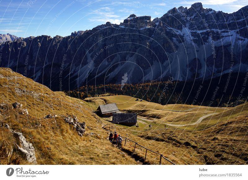Nature Vacation & Travel Landscape Far-off places Mountain Environment Lanes & trails Autumn Rock Tourism Hiking Trip Climate Adventure Hill Peak