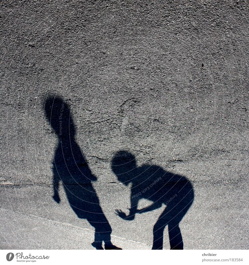 Human being Black Playing Gray Movement Together Fear Happiness Stand Threat Anger Argument Shadow Fight Parenting Aggression