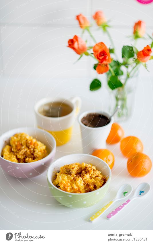 Breakfast for two Food Fruit Grain Dessert Nutrition Lunch To have a coffee Organic produce Vegetarian diet Diet Beverage Hot drink Coffee Tea Bowl Cup Mug