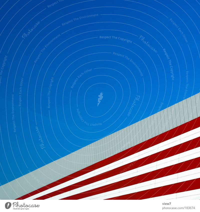 Red Wall (building) Stone Wall (barrier) Line Metal Design Elegant Concrete Large Facade Speed Perspective Modern Arrangement Esthetic