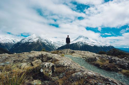 Majestic Mountains Joy Happy Vacation & Travel Trip Adventure Far-off places Freedom Expedition Camping Summer vacation Winter Winter vacation Hiking Climbing