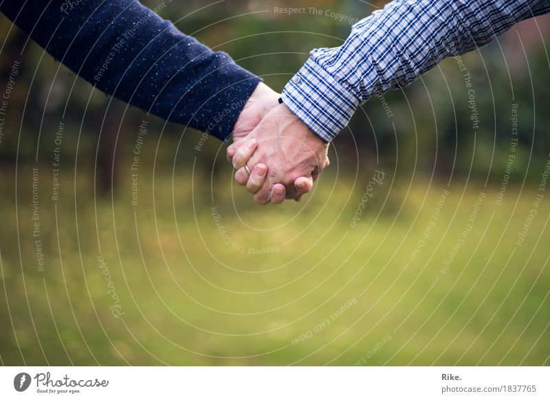 Together. Human being Woman Adults Man Parents Family & Relations Friendship Couple Partner Life Hand 2 Emotions Trust Safety Safety (feeling of) Agreed