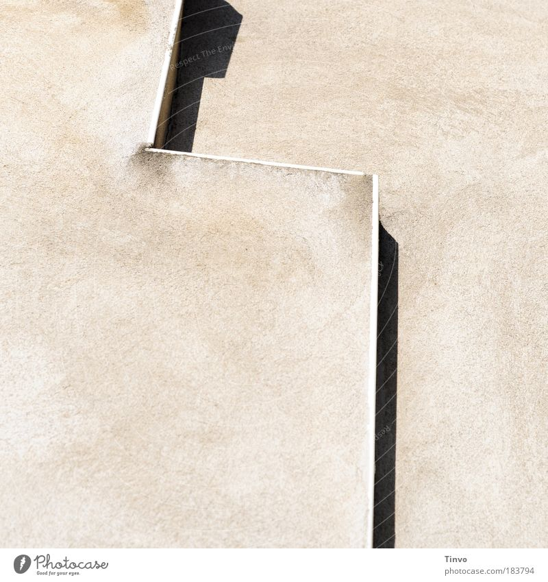 lead Colour photo Subdued colour Exterior shot Deserted Copy Space left Copy Space bottom Day Light Shadow Contrast Wall (barrier) Wall (building) Facade