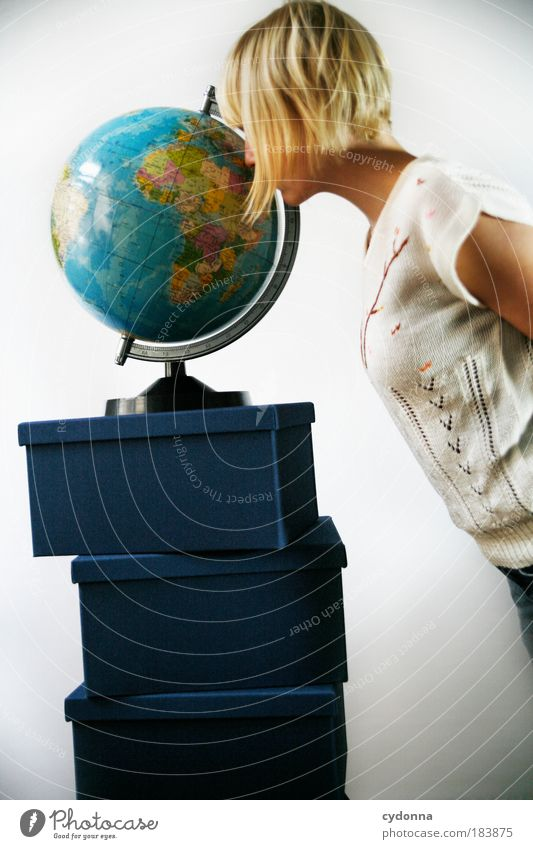 Woman Human being Youth (Young adults) Vacation & Travel Far-off places Life Dream Earth Adults Search Perspective Europe Study Future Tourism Communicate