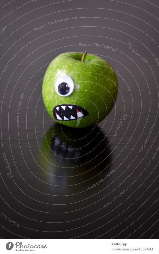 Green Face Eyes Head Mouth Teeth Common cold Anger Apple Creepy Appetite To feed Vitamin Blood Hallowe'en Dentist