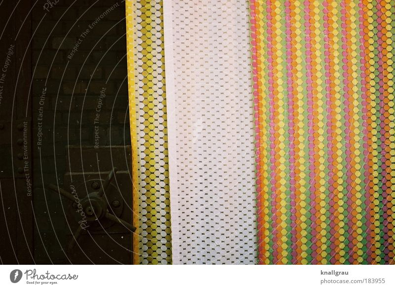 color crack Colour photo Multicoloured Interior shot Detail Experimental Lomography Abstract Pattern Structures and shapes Deserted Copy Space left