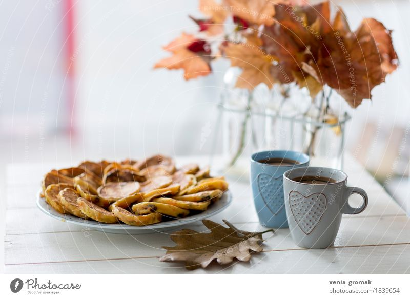 Relaxation Calm Autumn Food Contentment Nutrition Glass To enjoy Sweet Beverage Coffee Delicious Candy Serene Well-being Harmonious