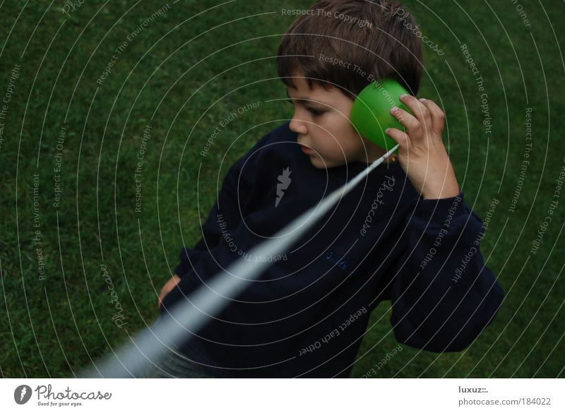 To talk Child Boy (child) Human being Telephone Study Network Communicate Cable Ear Contact Media Information Technology Curiosity Infancy Computer network