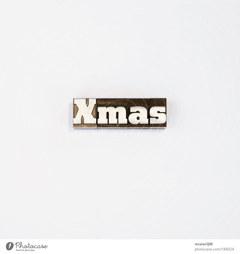 Christmas & Advent White Winter Black Exceptional Feasts & Celebrations Design Modern Esthetic Characters Crazy Creativity Sign Symbols and metaphors Tradition Advertising