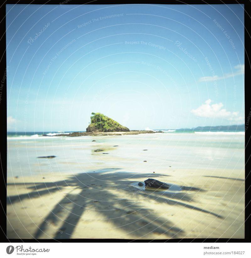 Sky Nature Vacation & Travel Blue Summer Plant Ocean Beach Travel photography Coast Freedom Stone Sand Rock Horizon Waves
